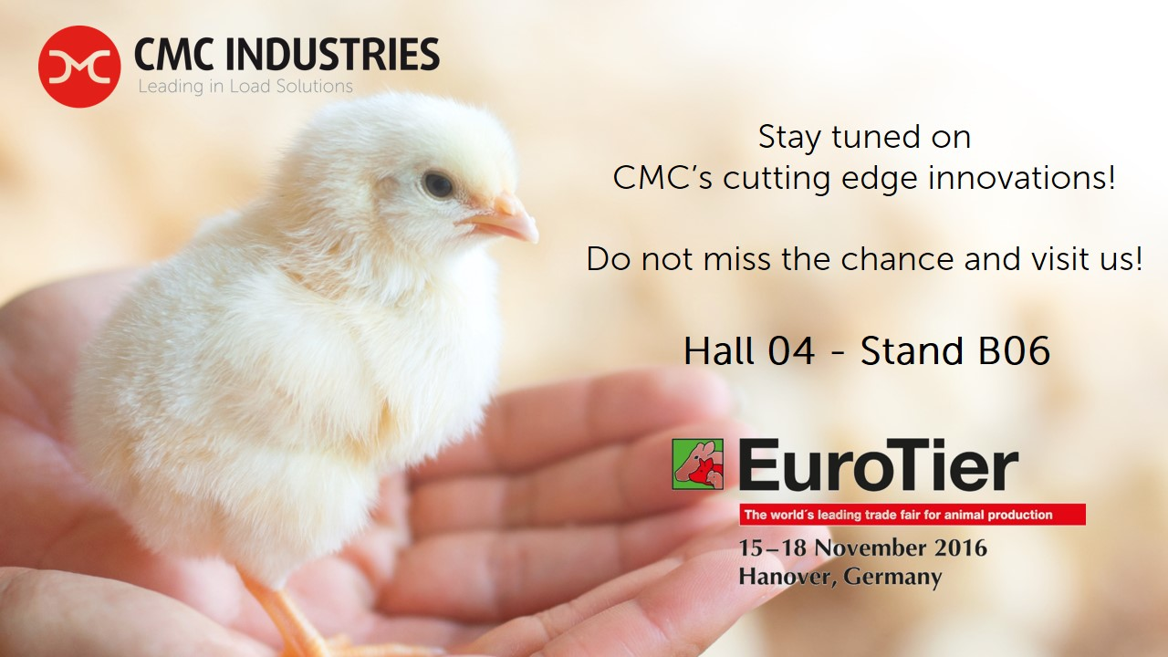 EuroTier 2016 Stay tuned on CMC's cutting edge innovations!